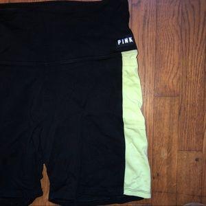 VS Pink bike shorts